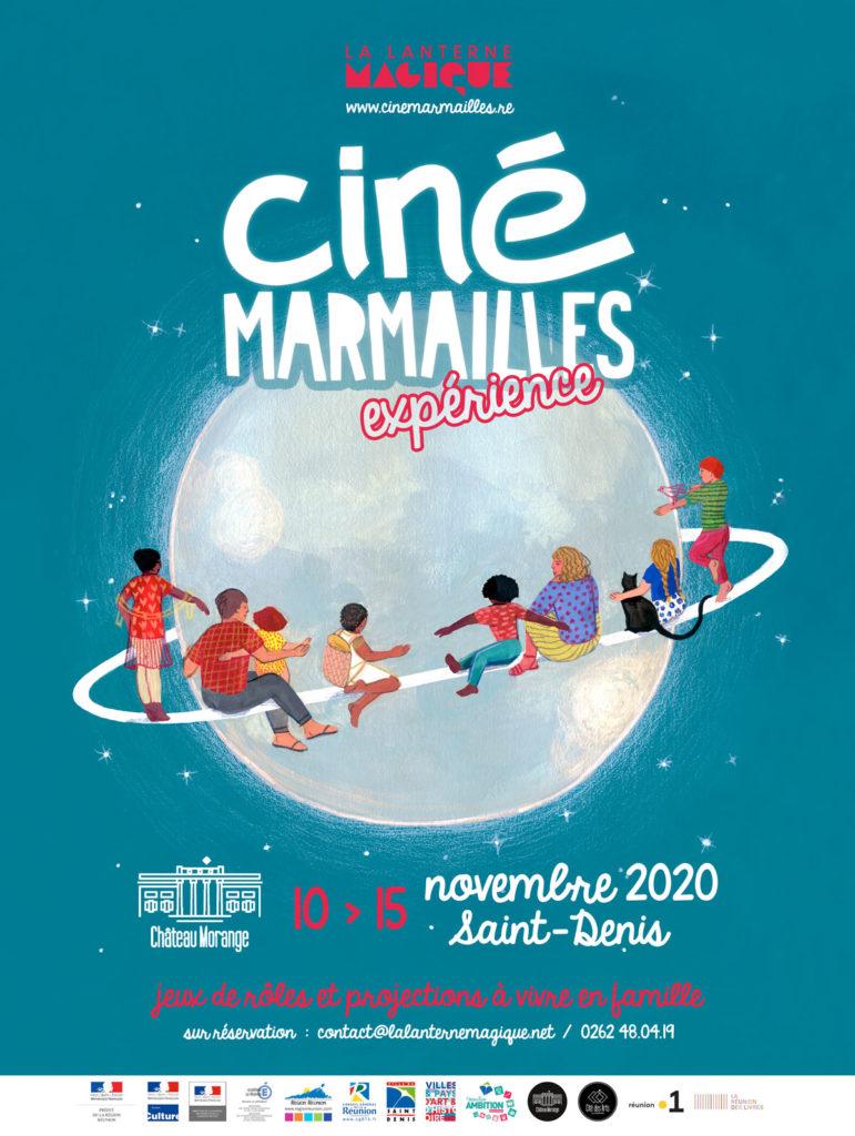 Affiche Ciné Marmaillles 2020 © JulieBernard